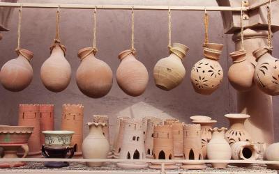 Nizwa Souk keramika