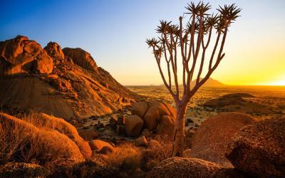 Půvabná krajina Damaralandu | Namibia