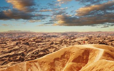 Moon Landscape nedaleko Swakopmund | Namibia
