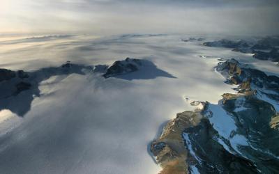 Čarokrásné scenérie antarktického vnitrozemí
