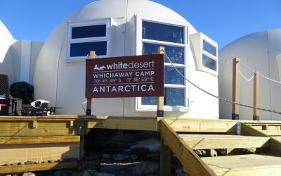 Vítejte na základně Whichaway Camp