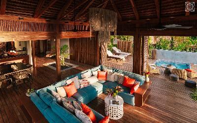 2 spálňová Villa_obývačka