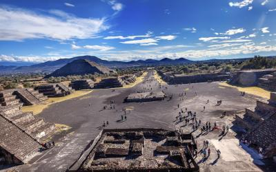 Teotihuacan Avenue of Dead