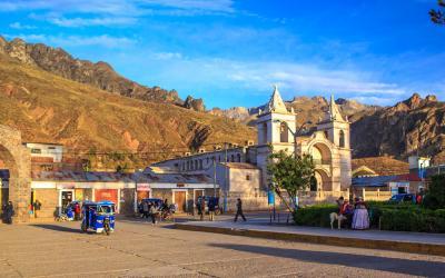 Peru   Chivay