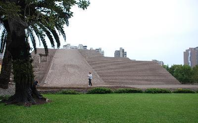Peru   Lima_Pyramída Huaca Pucllana