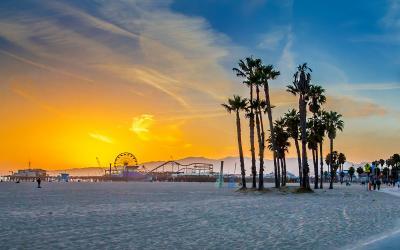 USA | Los Angles | Santa Monica Beach