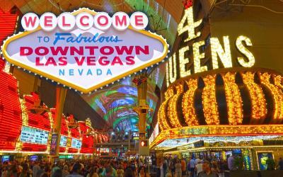 USA   Las Vegas downtown