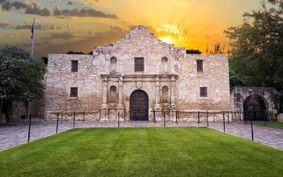 USA   San Antonio - Mise Alamo