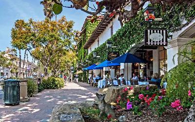 USA | Santa Barbara_Downtown