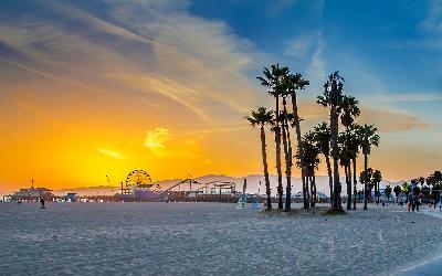USA | Los Angles_Santa Monica Beach
