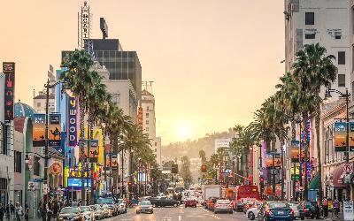 USA | Los Angles_Sunset Boulevard