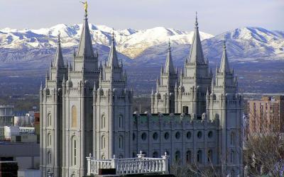 USA | Salt Lake City - chrám Mormonů