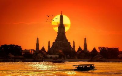 Thajsko | Bangkok_Chao Praya River