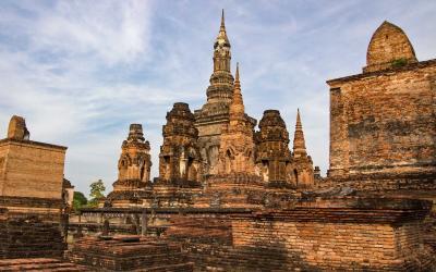 Thajsko | Sukhothai_Wat Mahathat