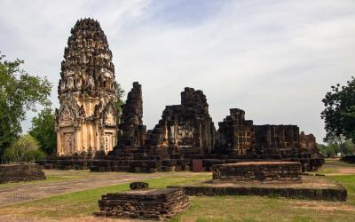 Thajsko | Sukhothai_Wat Phra Phai Luang