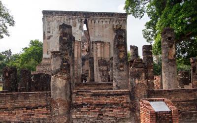 Thajsko | Sukhothai_Wat Sri Chum