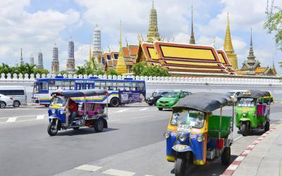 Thajsko | Bangkok_Tuk Tuk