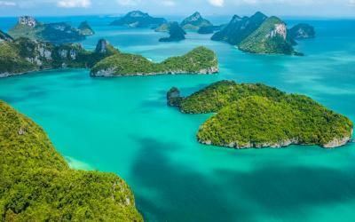 Thajsko | Koh Samui_Ang Thong National Marine Park