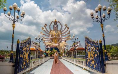 Thajsko | Koh Samui_Wat Plai Laem