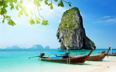Thajsko | Krabi_Railay Beach