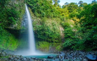 Kostarika | La Fortuna Waterfall