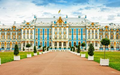 Rusko | Carskoje Selo_Catherine Palace