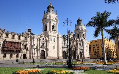 Peru   Lima_ Plaza de Armas