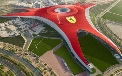 SAE   Abu Dhabi_Ferari World