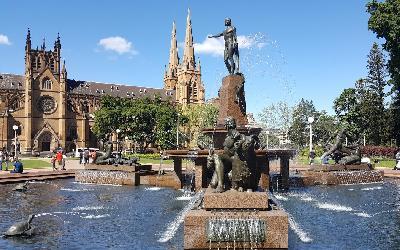 Australia | Sydney_Hyde Park Archibald Fountain