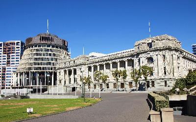 Nový Zéland | Wellington_Parliament