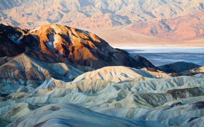 USA | Death Valley | Zabriskie Point