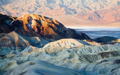 USA | Death Valley - Zabriskie Point