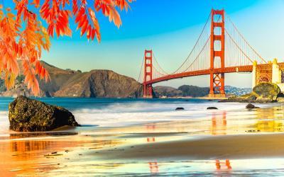 USA   San Francisco   Golden Gate Brdige