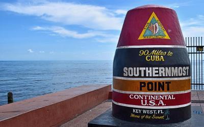 USA   Key West - nejjižnější bod USA