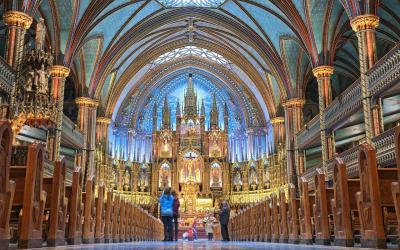 Kanada | Notre-Dame Basilica of Montreal