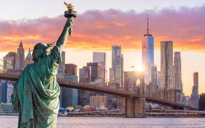 USA | New York - Socha svobody