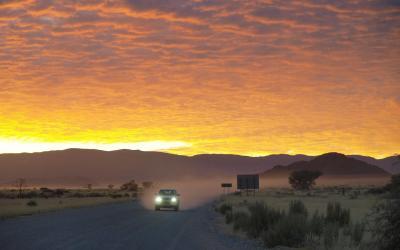 Namibie | svítání v Sesriem