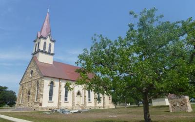 USA   Texas - Praha Ghost Town