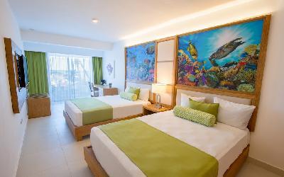 Double Beach Ocean view room