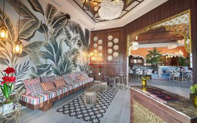 Indian restaurant Thali