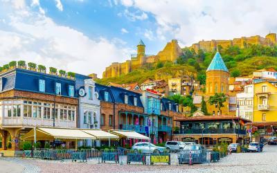 Tbilisi, staré město | Gruzie
