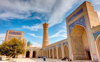 UNESCO | mešita Kalan, Buchara  | Uzbekistán