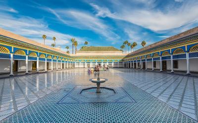 Bahia Palace | Marrakech  | Maroko