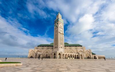 mešita Hassan II Mosque v Casablance  | Maroko
