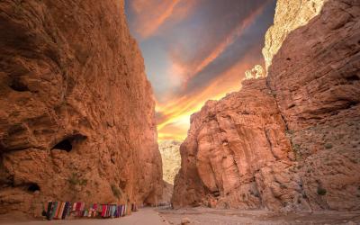 kaňonu Todra | Maroko