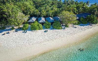 Beach Villas Aerial View