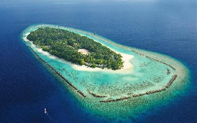 Royal Island Aerial View