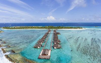 Water Villas Aerial View