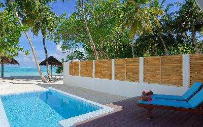 Beach Pool Villa Deck