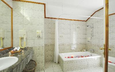 Deluxe Beach Bungalow Bathroom